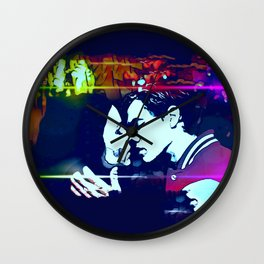 The Kiss of Death Wall Clock