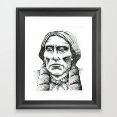 Quanah Parker, Last Chief of the Comanches Framed Art Print