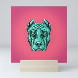 PitBull Mini Art Print