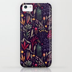 Botanical pattern Slim Case iPhone 5c