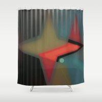 alaska Shower Curtains featuring Alaska by Kristine Rae Hanning