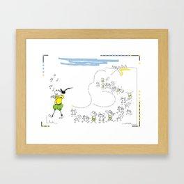 ElflautistadeHamelin Framed Art Print