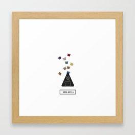 capsules ad Framed Art Print