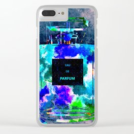 Perfume Dark Grunge Clear iPhone Case