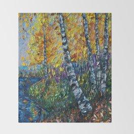 Colorado Landscape Throw Blanket