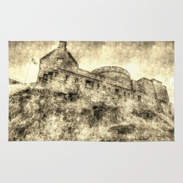 Edinburgh Castle Vintage Rug