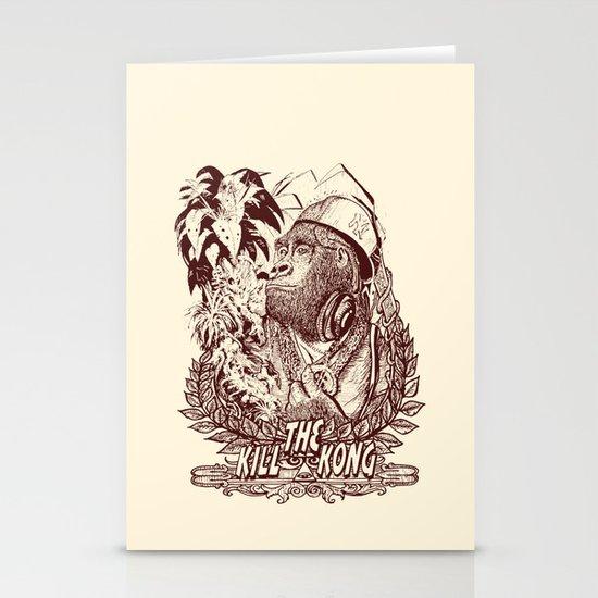 KILL THE KONG Stationery Cards