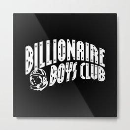 Billionaire Boys Club Logo - BLK Metal Print