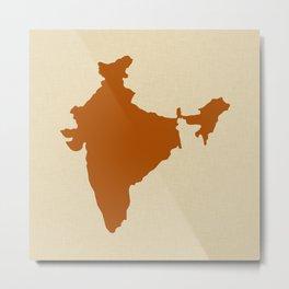 Cinnamon Spice Moods India Metal Print