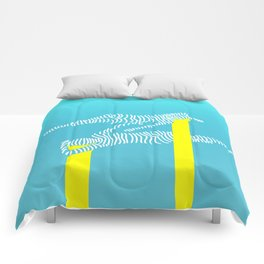 Float | Aqua Comforters