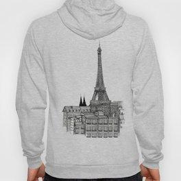City view of paris Hoody