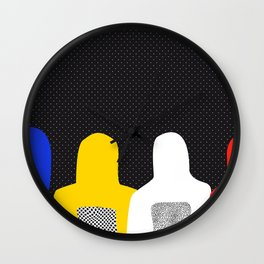 Color Brothers Wall Clock