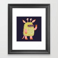 Monster Rufus Framed Art Print