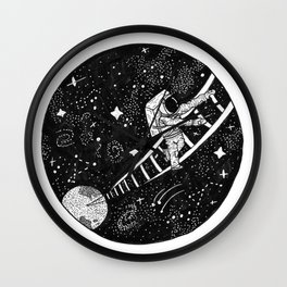 Ladder to the Cosmos Wall Clock