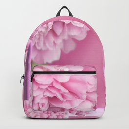 Pink Peonies In Frame #decor #society6 #buyart Backpack