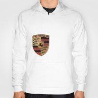 font Hoodies featuring Porsche FONT by kartalpaf