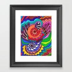 Zen Zone Framed Art Print