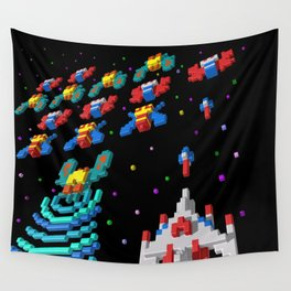 Inside Galaga Wall Tapestry
