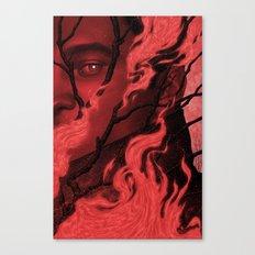 Byronic V Canvas Print