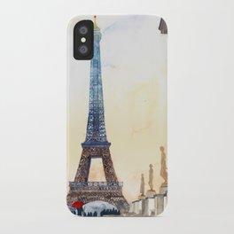 Morning in Paris iPhone Case
