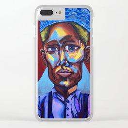 "John Birks ""Dizzy"" Gillespie Clear iPhone Case"