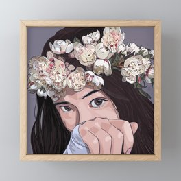 Flora Framed Mini Art Print