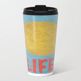 Enjoy Life Metal Travel Mug