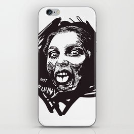 Not Funny iPhone Skin