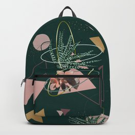 Succulents Atoms #society6 #decor #buyart Backpack