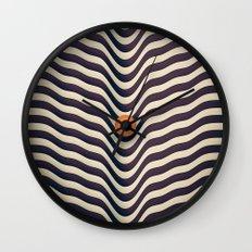 Dot V (melt) Wall Clock