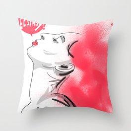 Ecstasy!  Throw Pillow