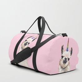 Unicorn Llama Duffle Bag