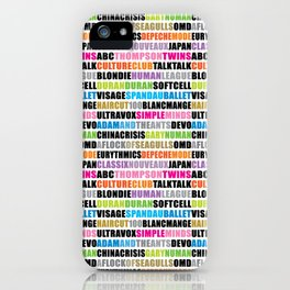 80's new wave band 001 iPhone Case