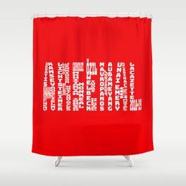 Arsenal 2018 - 2019 Shower Curtain