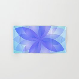 Abstract Lotus Flower G303 Hand & Bath Towel