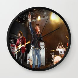 Arctic Monkeys in Williamsburg, New York Wall Clock