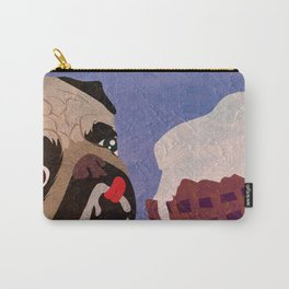 Pug frozen Carry-All Pouch
