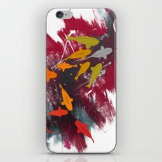 Aiming for the moon iPhone & iPod Skin