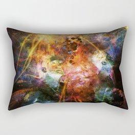 Between Worlds Rectangular Pillow