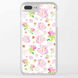 Wildrose Clear iPhone Case