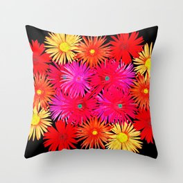 Bouquet on display Throw Pillow
