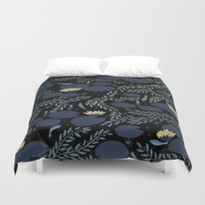 night waterlily Duvet Cover