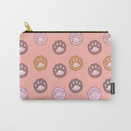 Lovely Paw Pattern Carry-All Pouch