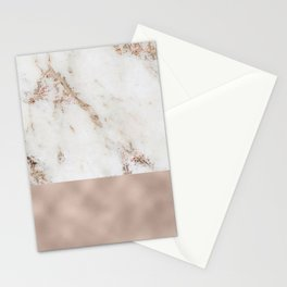 Monte Carlo marble Stationery Cards