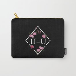 U=U Undetectable Equals Untransmittable HIV Awareness Flowers Carry-All Pouch