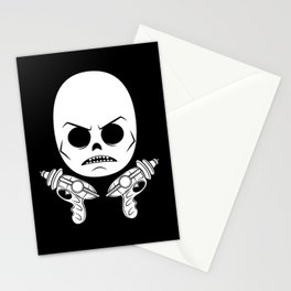 DeathRay Evil Empire Logo Stationery Cards