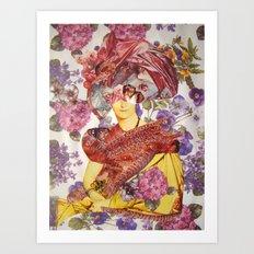MADAME DEVAUCAY Art Print