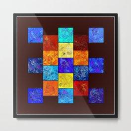 Ecleptios - colourful world Metal Print