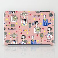 tennis iPad Cases featuring tennis by Hui_Yuan-Chang