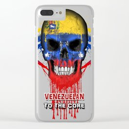 To The Core Collection: Venezuela Clear iPhone Case